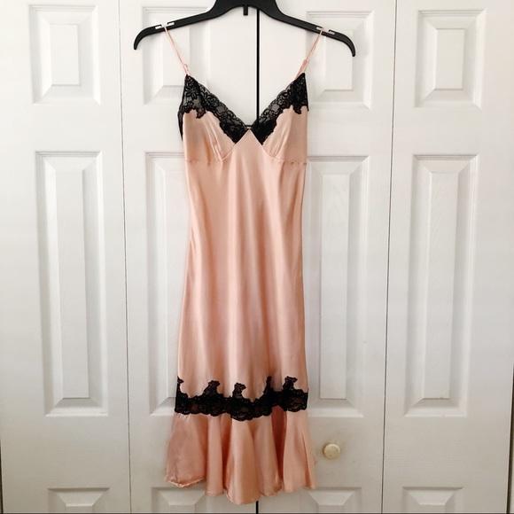 Victoria's Secret Other - Victoria's Secret Pink Silk Slip Sz XS